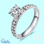 Stainless Steel CZ Stone Wedding/Engagement/Proposal/Anniversary Rings | Jewelry for sale in Nairobi, Nairobi Central
