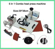 Combo Heat Print Machine T-shirts/Mug/Plate/Cap/Cup | Printing Equipment for sale in Nairobi, Nairobi Central
