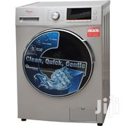 Ramtons RW/144-front Load Fully Automatic 7kg Washer 1400 RPM Silver. | Home Appliances for sale in Kisumu, Central Kisumu
