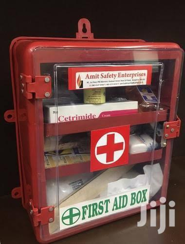 Archive: Fully Stocked Mountable First Aid Cabinet