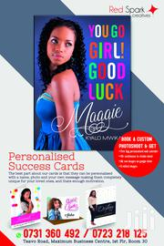 Personalised Success Cards | Other Services for sale in Nairobi, Nairobi Central
