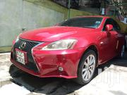 Lexus IS 2009 250 Red | Cars for sale in Mombasa, Tudor