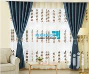 Navy Blue Linen Curtains | Home Accessories for sale in Nairobi, Nairobi Central