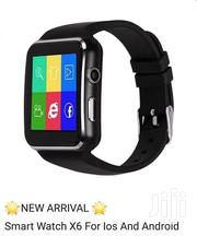 Sleek Smart Watch Phone X6 Touchscreen | Watches for sale in Nairobi, Lavington