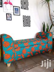 African Print(Ankara) Fabric Benches/Sofas | Furniture for sale in Nairobi, Ziwani/Kariokor