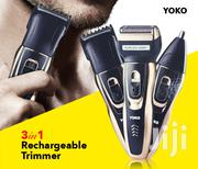 Travel Rechargeable Shaver/Hair Clipper/Nose Trimmer - YK-6559 | Hair Beauty for sale in Nairobi, Nairobi Central