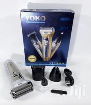 Portable Rechargeable Shaver/Hair Clipper/Nose Trimmer - YK-7207 | Tools & Accessories for sale in Nairobi, Nairobi Central