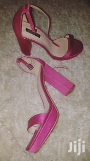 Hot Pink / Fuchsia Pink Chunky Heels From Primark | Shoes for sale in Nairobi, Kahawa