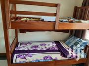 Wooden Bunk Bed With Mattresses Good Condition | Furniture for sale in Nairobi, Parklands/Highridge