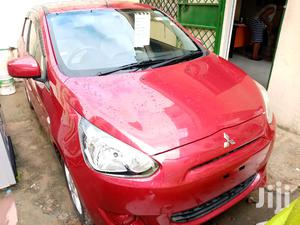 Mitsubishi Mirage 2012 Red