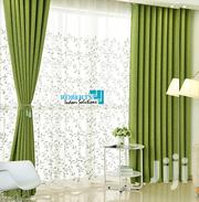 Green Linen Curtains | Home Accessories for sale in Nairobi, Nairobi Central
