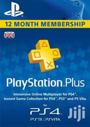 Playstation Plus (PS+) 1 Year 12 Months Subscription UK Digital Code | Video Game Consoles for sale in Nairobi, Nairobi Central