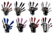 Stainless Steel 8 Pc Kitchen Knife Set With Acrylic Stand Holder   Home Appliances for sale in Nairobi, Nairobi Central