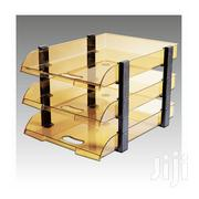 3 Tier Brown Glass / Executive Office Tray | Stationery for sale in Nairobi, Nairobi Central