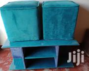 Table and a Poof | Furniture for sale in Uasin Gishu, Huruma (Turbo)