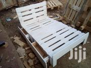 4 By 6 Pallet Bed With 2 Side Drawers | Furniture for sale in Kiambu, Theta