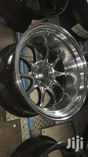 Chrome Offset Rims 15inch | Vehicle Parts & Accessories for sale in Nairobi, Mugumo-Ini (Langata)