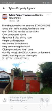 Three Bedroom Master Ensuite Stand Alone House in Kamakwa | Houses & Apartments For Rent for sale in Nyeri, Kamakwa/Mukaro