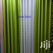 Green Blackout Curtain and White Sheer | Home Accessories for sale in Nairobi, Nairobi Central