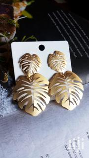 Alloy Palm Leaf Earrings | Jewelry for sale in Nairobi, Nairobi Central