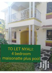 TO LET: 4 Bedroom Plus Swimming Pool | Houses & Apartments For Rent for sale in Mombasa, Ziwa La Ng'Ombe