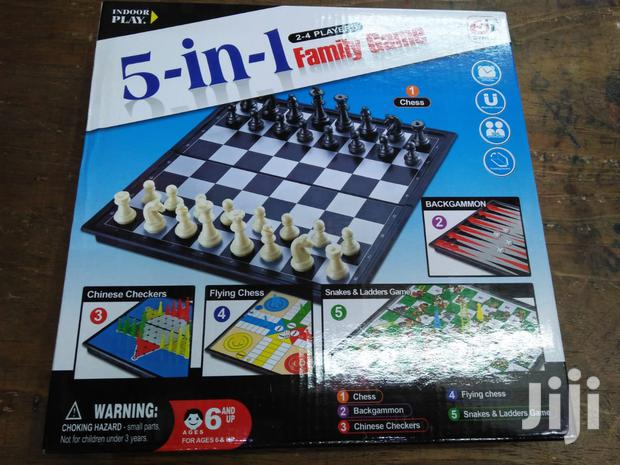 5 In 1 Family Game