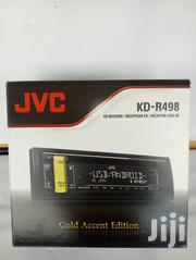 JVC Kd-r498 Car Radio Receiver USB Aux Fm Radio Cd Player | Vehicle Parts & Accessories for sale in Nairobi, Nairobi Central