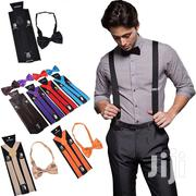 ALDUTS Suspender And Bow Tie | Clothing Accessories for sale in Nairobi, Nairobi Central