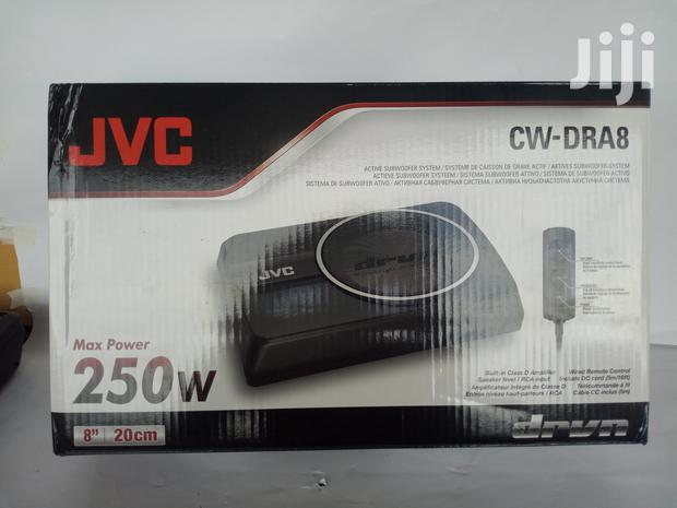 JVC Cw-dra8 Underseat Subwoofer