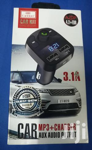 Earldom Car Modulator With Charging Port And USB Port
