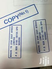 Rubber Stamps Rectangle Shape & Company Seal | Stationery for sale in Nairobi, Nairobi Central