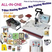 Heat Press Machine Transfer Sublimation T-shirt Mug Hat Plate Cap | Printing Equipment for sale in Nairobi, Nairobi Central