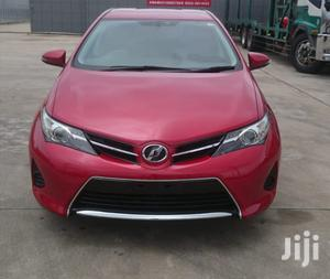 Toyota Auris 2013 Red