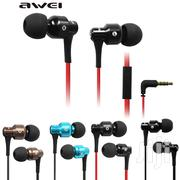Awei Es500i Heavy Metal Wired In-ear Headphones Earphones With MIC   Accessories for Mobile Phones & Tablets for sale in Nairobi, Nairobi Central