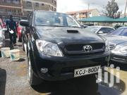 Toyota Hilux 2010 2.5 D-4D 4X4 SRX Black | Cars for sale in Nairobi, Kilimani