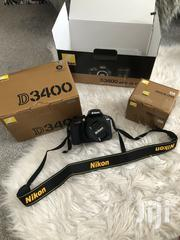 Nikon D3400 DSLR Camera Lens - Black W/ Original Box User Manuals | Photo & Video Cameras for sale in Wajir, Korondile