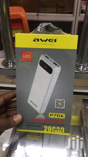 Awei P70k 20000mah Powerbank | Accessories for Mobile Phones & Tablets for sale in Nairobi, Nairobi Central