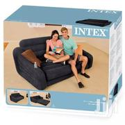 Intex Inflatable Pullout Sofabed Greyish Black With a Pump | Furniture for sale in Nairobi, Nairobi Central