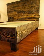 Finely Made Antique King Size 6 By 6 Bed | Furniture for sale in Kiambu, Kiuu