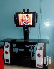 Glass TV Stand Built With A Tv Mounting | Furniture for sale in Nairobi, Kawangware