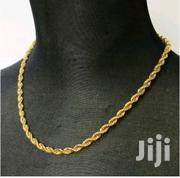 Twisted Flat Double Layer Gold Filled Necklace. | Jewelry for sale in Nairobi, Kilimani