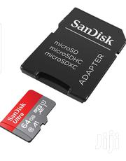 Original 64gb Sandisk Memory Card With Warranty | Accessories for Mobile Phones & Tablets for sale in Nairobi, Nairobi Central