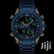 Naviforce Golden Blue LED | Watches for sale in Nairobi, Nairobi Central