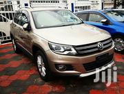 New Volkswagen Tiguan 2013 S with Sunroof Gold | Cars for sale in Mombasa, Shimanzi/Ganjoni