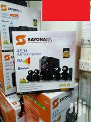 16000 Watts Sayona Sht1148bt 4.1 Channel Subwoofer Speakers | Audio & Music Equipment for sale in Nairobi, Nairobi Central