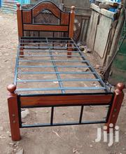 3by 6 Metal And Wood Bed | Furniture for sale in Nairobi, Ngando