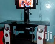 """Selling My Glass Tv Stand With A Tv Mounting On Top. Mount Upto 65"""" 