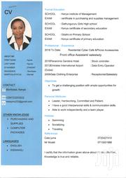 Administrative Assistant/Bookkeeper | Clerical & Administrative CVs for sale in Mombasa, Ziwa La Ng'Ombe