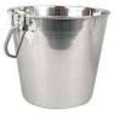 Stainless Steel Bucket With Led