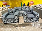 Simple Quality Ready Made 5 Seater Sofa | Furniture for sale in Nairobi, Ngara